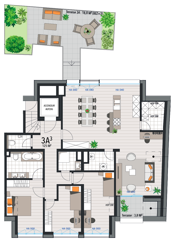 Apartment 3A