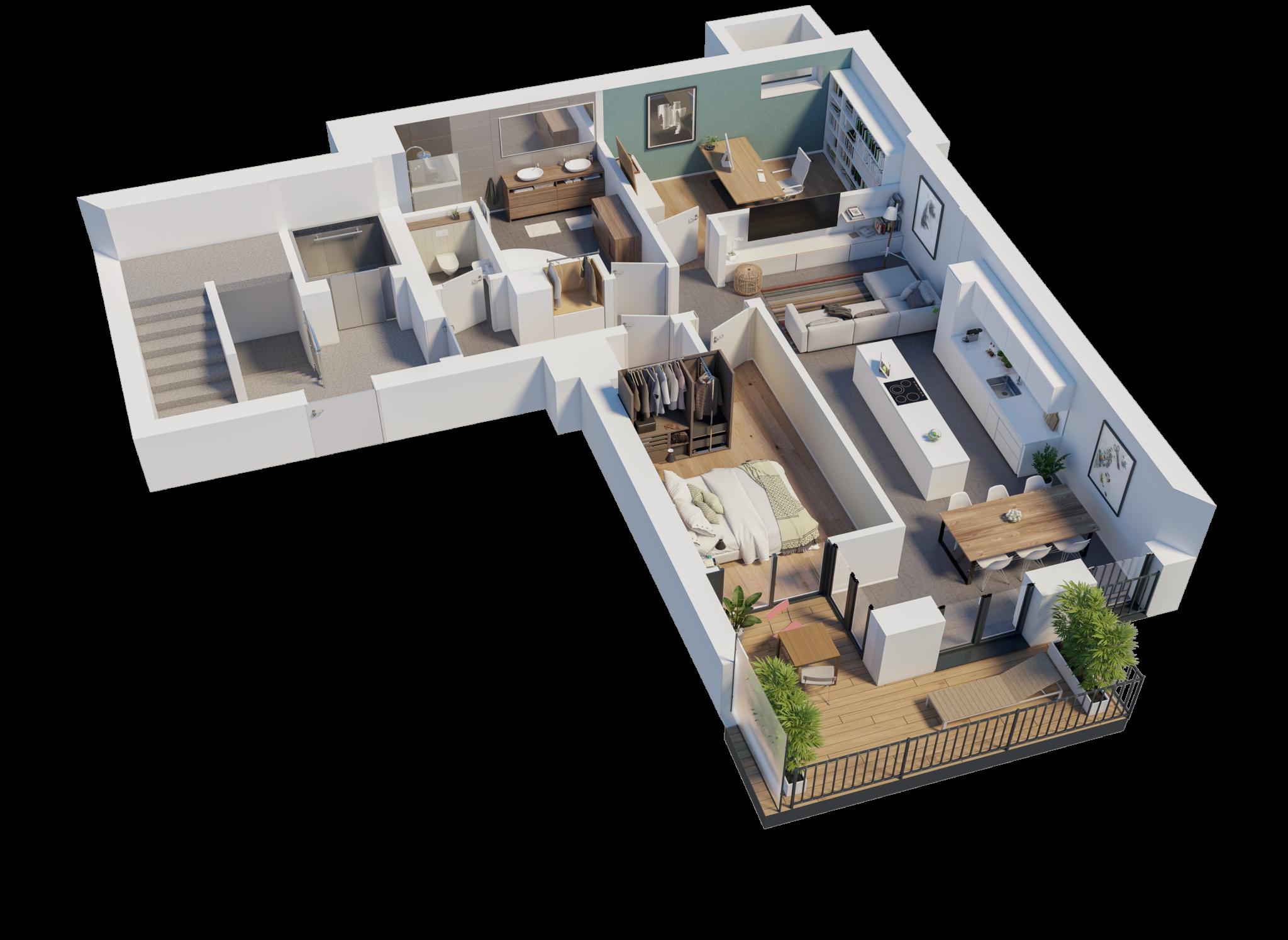 Wohnung 1A